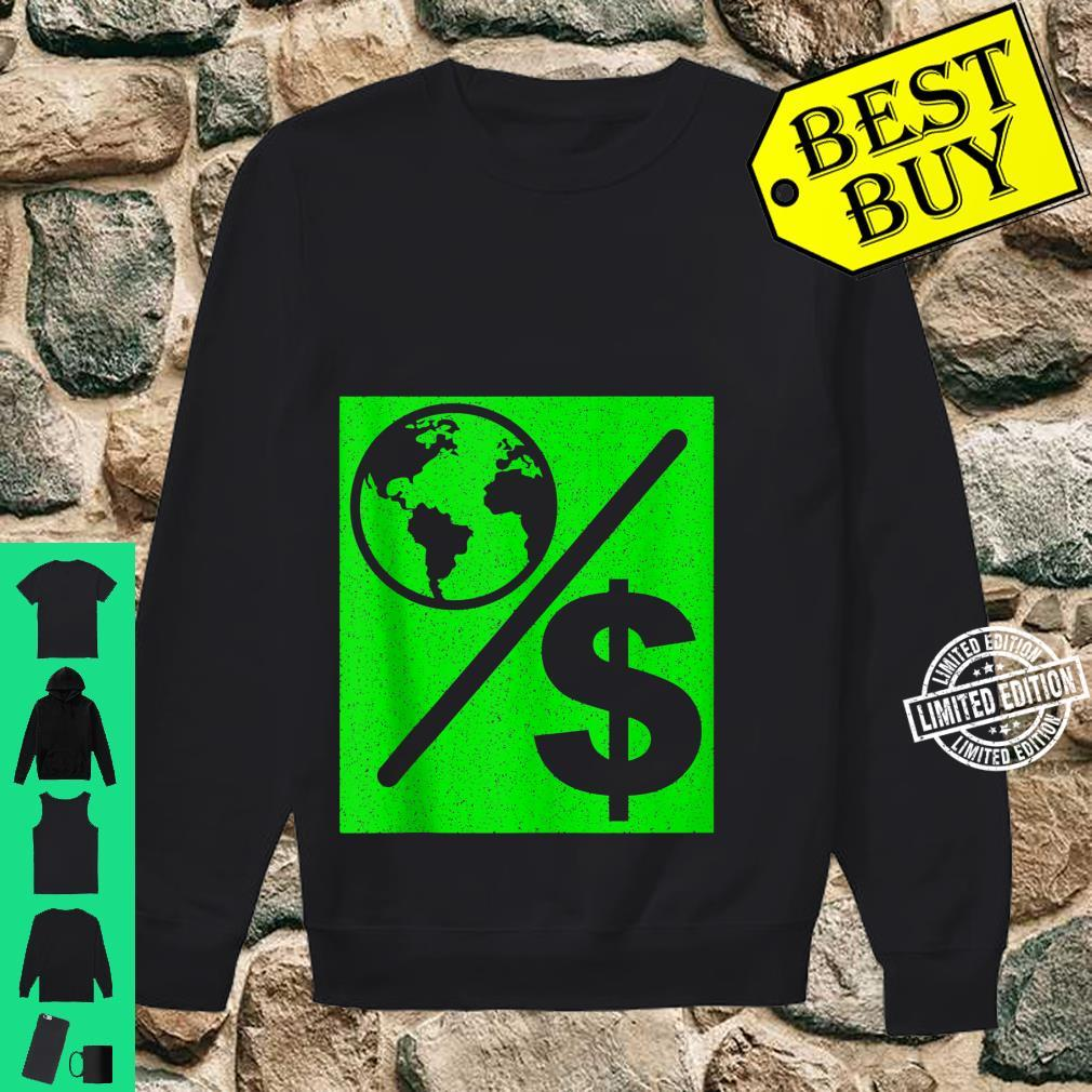 Happy Earth Day 51th Anniversary Planet Over Profit Teacher Shirt sweater