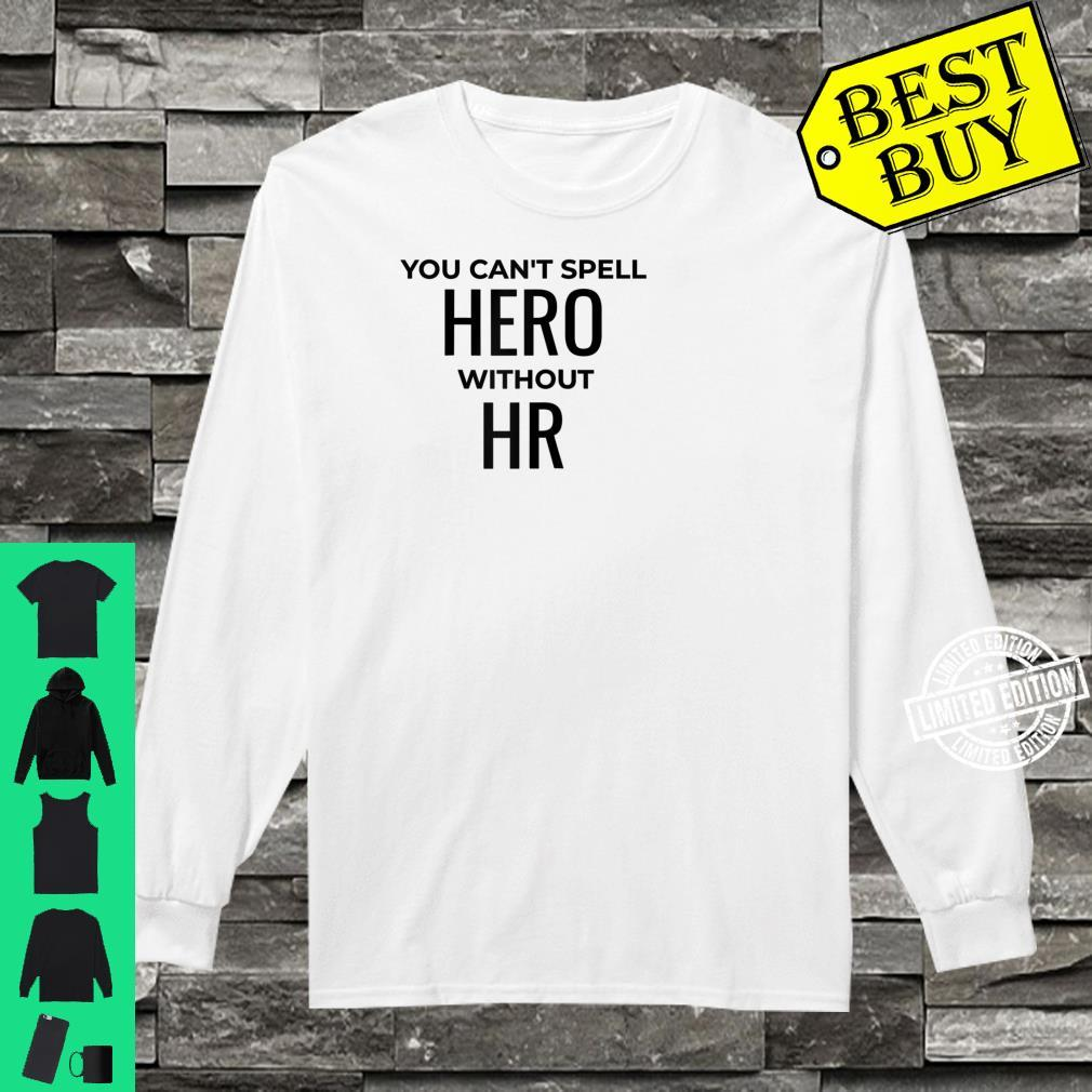 Human Resources Manager HR Professional Shirt long sleeved
