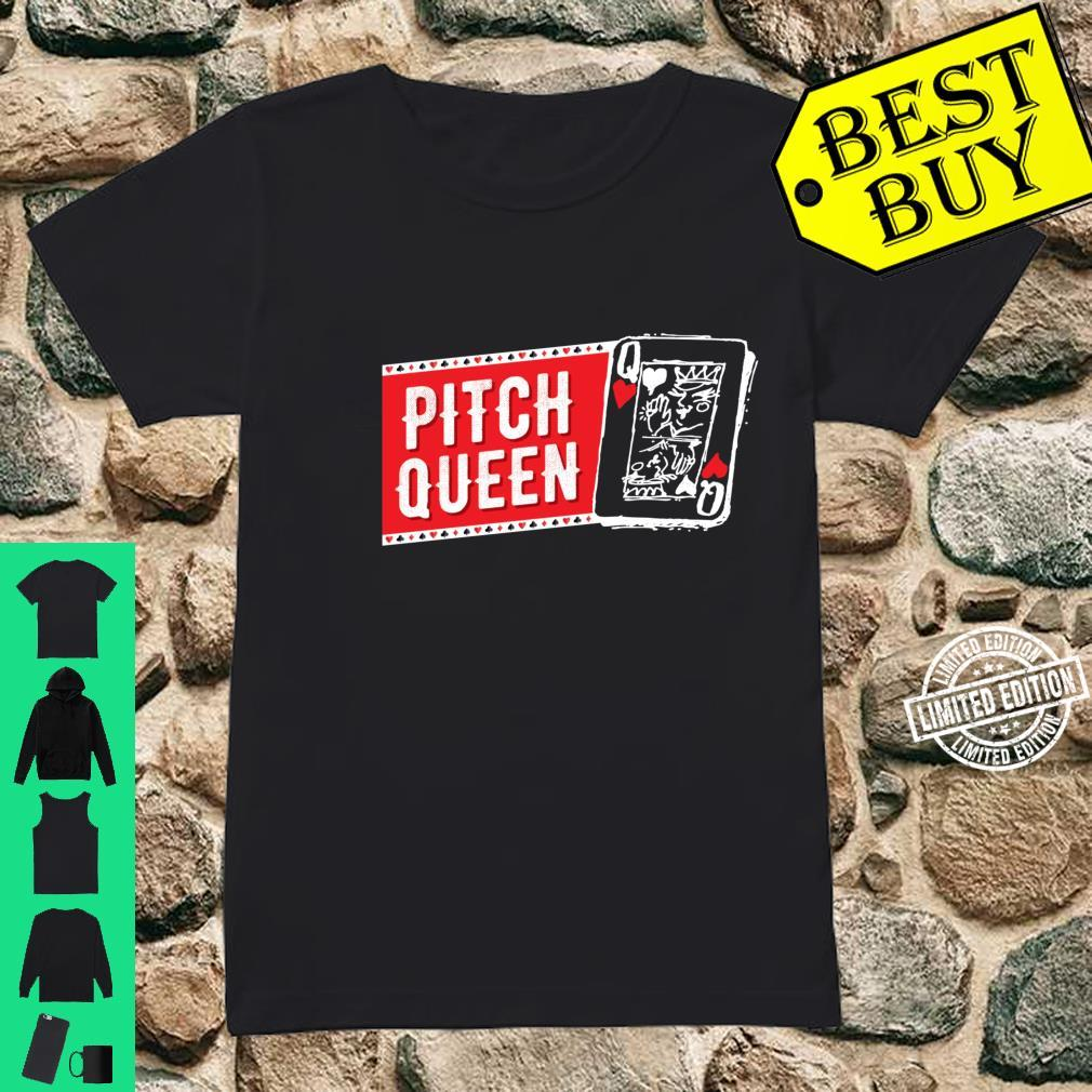 Pitch Queen, Pitch Player Cool Cards Shirt ladies tee