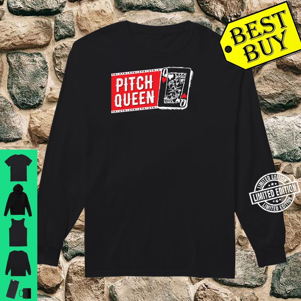 Pitch Queen, Pitch Player Cool Cards Shirt long sleeved