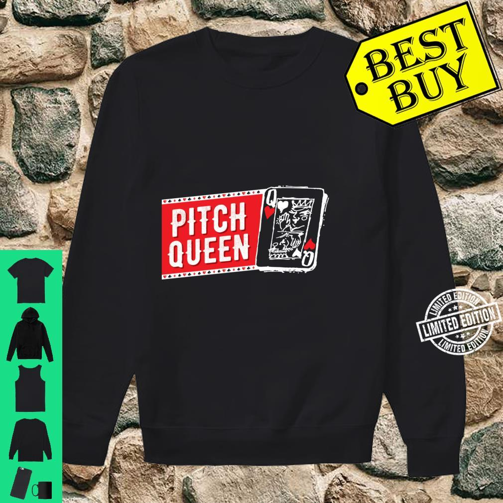 Pitch Queen, Pitch Player Cool Cards Shirt sweater