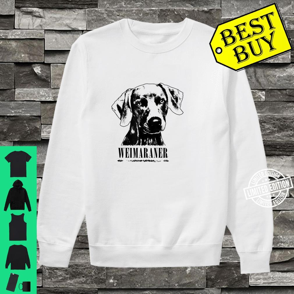 Weimaraner Protruding Dog Shirt sweater