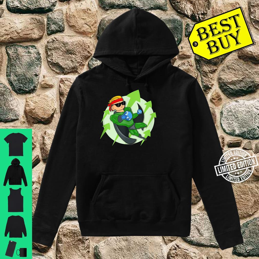 Wall Street Bets Superhero HOLD If He's In I'm In WSB YOLO Shirt hoodie