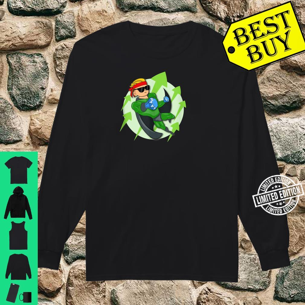 Wall Street Bets Superhero HOLD If He's In I'm In WSB YOLO Shirt long sleeved