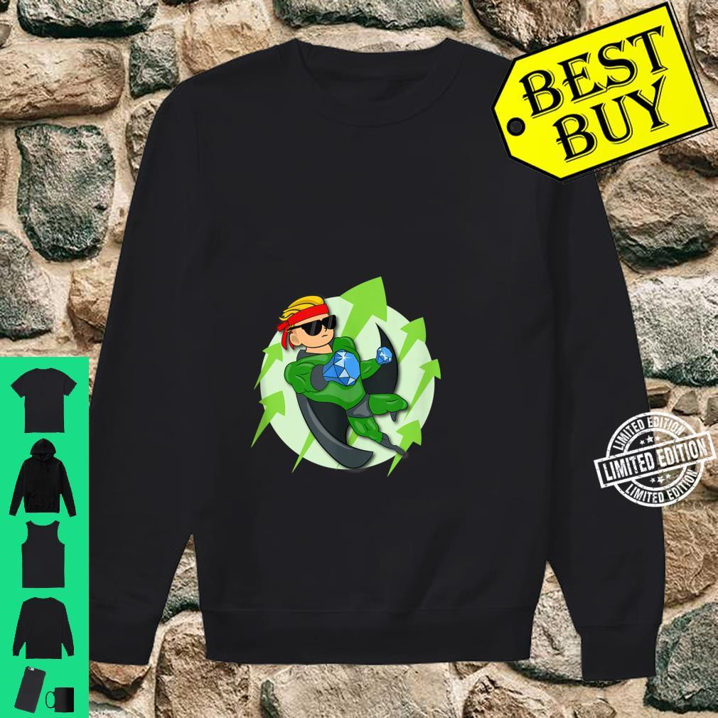 Wall Street Bets Superhero HOLD If He's In I'm In WSB YOLO Shirt sweater