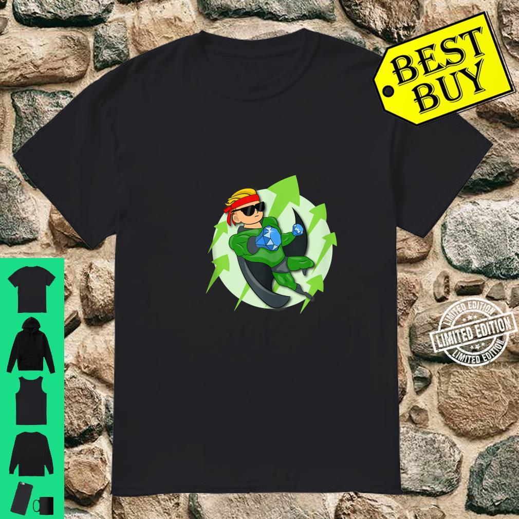 Wall Street Bets Superhero HOLD If He's In I'm In WSB YOLO Shirt
