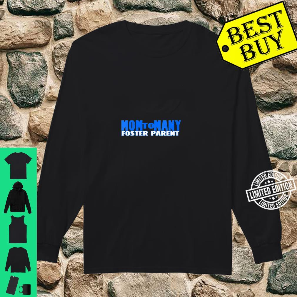 Womens Foster Parent Dad Price Foster Care Shirt long sleeved